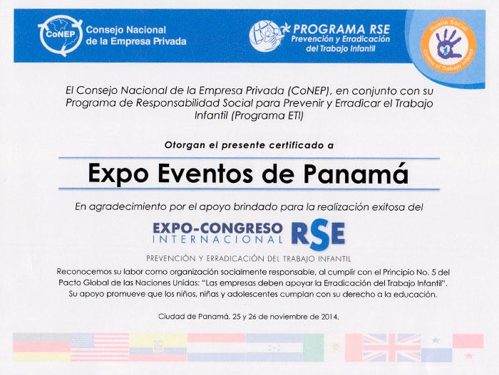 EXPO CONGRESO INTERNACIONAL RSE 2014