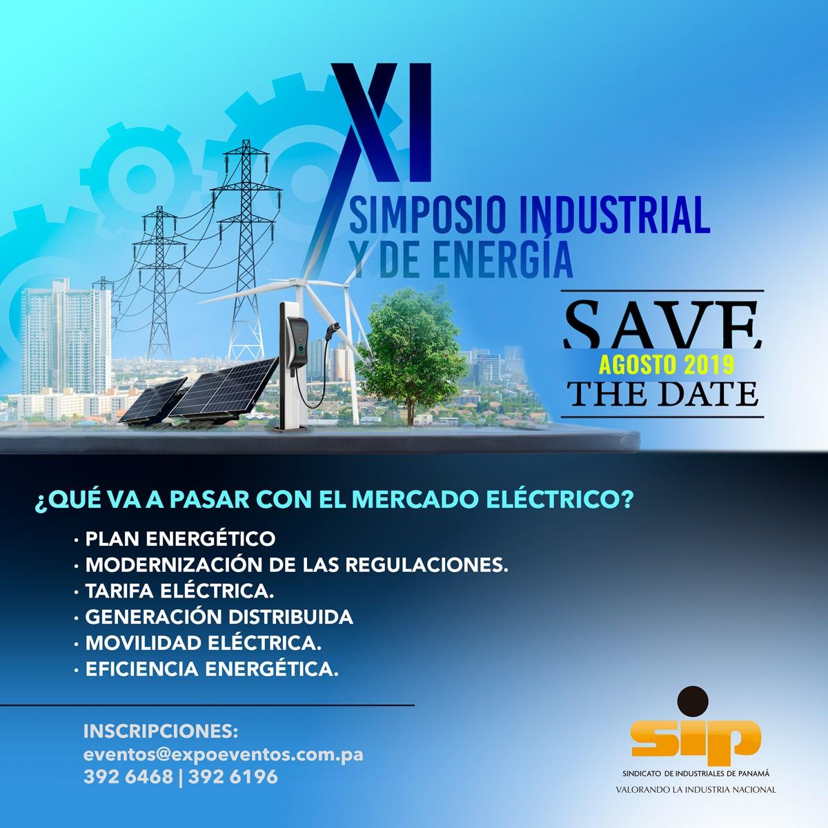 XI Simposio Industrial y de Energía